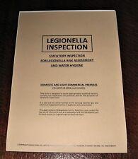 Landlords Safety Certificate Legionella Inspection Legionnella Legionnela Report