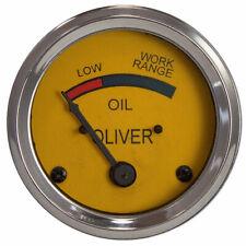 Oil Gauge 66 77 88 99 Supers 44 55 660 550 60 70 80 Oil Pressure Oliver 082