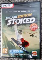 STOKED BIG AIR EDITION PC DVD-ROM SNOWBOARDING GAME brand new & sealed UK