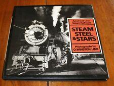 STEAM STEEL & STARS - PHOTOGRAPHS BY O. WINSTON LINK 1987 -- TRENI E LOCOMOTIVE