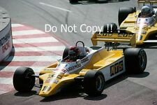 Eliseo Salazar & Manfred Winkelhock ATS D5 EE. UU. Grand Prix 1982 fotografía