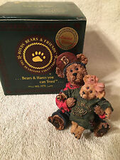Boyds Clarion Bear Festival Exclusive~Grant & Clari~Home in the Heartland RARE