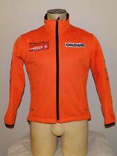 Boys Goldwin Whistler Cup orange softshell zip-up ski fleece jacket Youth Small
