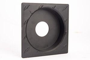 Sinar Horseman Custom 28mm Recessed Lensboard with Diamond Plate Pattern LOOK!!!