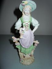 Vintage Andrea S Hand Painted Porcelain Figurine Statue Made in Occupied Japan