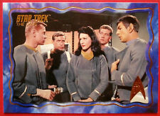 "STAR TREK TOS 50th Anniversary - ""THE CAGE"" - GOLD FOIL Chase Card #43"