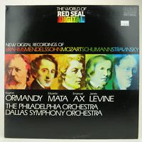 Brahms Mendelssohn Mozart Schumann Stravinsky LP RCA Red Seal XRC1 3624  -   EX