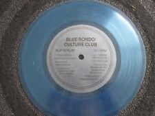 Blue Rondo/ Culture Club Change / I'll Tumble 4 Ya  UK BLUE 7inch Flexi- Single