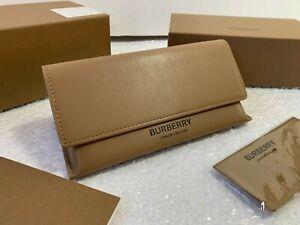 Case Burberry Sunglasses Eyeglasses Brown Glasses Cloth Authentic Large Case