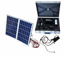 Portable Generator-Solar Powered-Mobile backup power system- 500W