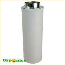 Air Activated Carbon Filter 150mm X 500mm for Hydroponics Tent Grow Light