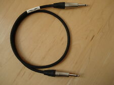 Superior Klotz Jack Guitar Amp Cab Cabinet Speaker Cable, 1m