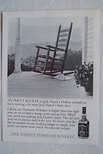 JACK DANIELS - 1990s Magazine Advertisment Poster