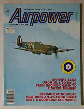 AIRPOWER MAGAZINE PLANES JETS PILOT FLIGHT WAR USAF 1993 NOVEMBER MK1 MK24