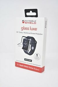 ZAGG Invisible Shield Glass Luxe Screen Protector for Apple Watch Series 3 38mm
