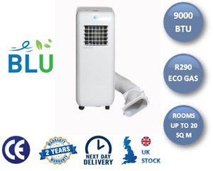 BLU09 Portable Air Conditioning Unit - 9,000BTU with Complimentary Window Kit