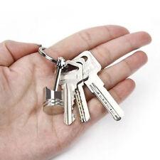 Men's Vogue Car Engine Auto Part Metal Piston Model Keychain Keyring Keyfob New