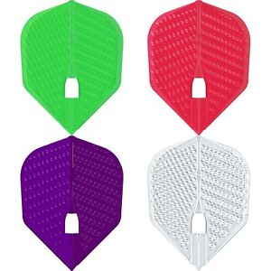L Style Dimple Dart Flights L3 Shape Champagne Ring Small Standard Plain Colours