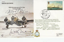 40th Anniv VJ – Day  Special Signed Wg.Cdr.Laddie Lucas WW11 ace & E Der USA Ace
