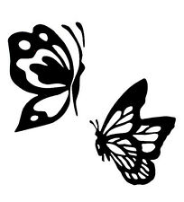 Butterfly Pair - Window Vinyl Decal Sticker Car RV Truck Boat Fun Outdoor