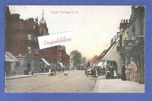 Upper Tooting Broadway Clapham 1908 sento Mr & Mrs Parke36 Airdale Road Balham