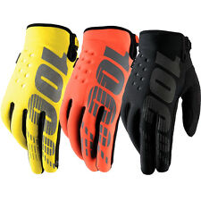 100% YOUTH BRISKER KIDS COLD WEATHER GLOVES MOTOCROSS MX BIKE GLOVES kids