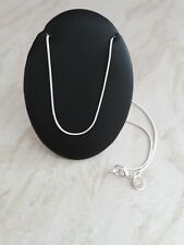 New 925 Silver Plated 20in Snake Chain
