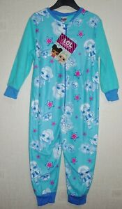BRAND NEW GIRLS LOL SURPRISE MICROFLEECE ALL IN ONE PYJAMA AGES: 2-3 up to 7-8