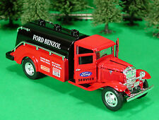 Die-Cast 1934 Ford Benzol Tanker O Scale 1:43 by Metalic Team 34 Ford Tanker