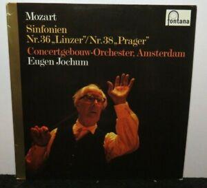 EUGEN JOCHUM MOZART SINFONIEN NR 36 38 (NM) 6530056 LP VINYL RECORD