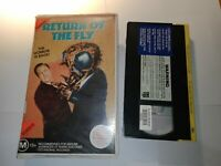 Return of The Fly VHS Pal CBS Fox Cult Horror Classic