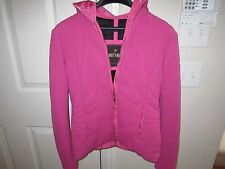 PINK POST CARD SKI JACKET - SIZE 8 - GORE TEX MATERIAL - NICE CONDITION