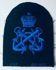 WRNS Womens Royal Naval Service Petty officer Uniform Badge Patch V085