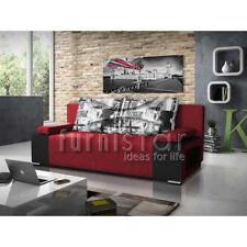 Fabric Modern Double Sofa Beds