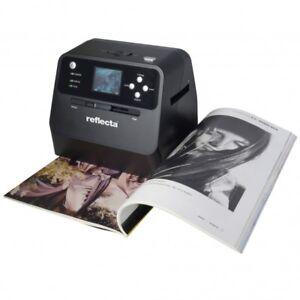 Reflecta Combo Album Scanner für Dias, Negative + Fotos Spielend digitalsieren