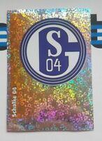 Panini Bundesliga 1996 Sticker 271 FC Schalke 04 Wappen Glitzer Buli 96