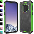 For Samsung Galaxy S9 / Plus Case Shockproof Hybrid Phone Cover+Screen Protector