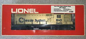 Lionel No. 6-8359 General Motors Anniversary Chessie GP-7 Diesel Locomotive NIB