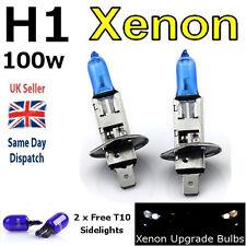 H1 100w Super Blanco Xenón (499) alta haz de actualización Cabeza Bombillas 12v E