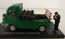 CITROEN TYPE H HY PLATEAU CHARBONNIER MOMACO 1/43 BOITE ELIGOR NOREV FIGURINE