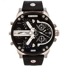 Montre homme Diesel DZ7313 Daddy 2.0 en cuir noir chronographe