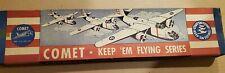 Comet Phantom Fury Vintage Wood Model Airplane Kit