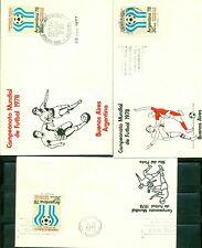 Argentina, World Cup 1978, 5 FDC, lot # 53