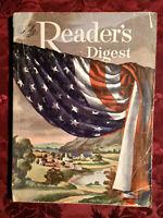 Readers Digest July 1952 James Michener Elia Kazan UFO Greta Garbo James Aswell