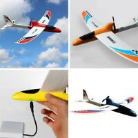 Super Capacitor Electric Hand Throwing Free-flying Glider Airplane Model Funny F