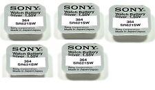 Sony 5 batterien Sony 364 / SR621SW 1,55V