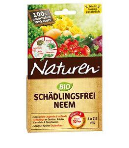 Substral Naturen Organic Schädlingsfrei Neem, 4 x 7,5 ML