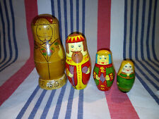 Vintage Kings and Queens Nesting Doll / Russian Doll