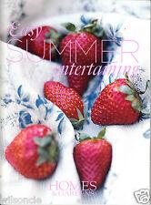 Easy Summer Entertaining by Homes & Gardens UK (Paperback, 2008)