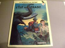 """LA PATROUILLE DES CASTORS """"L'ILE DU CRABE"""" 26 EO 1986 CARTONNE - MITACQ"""